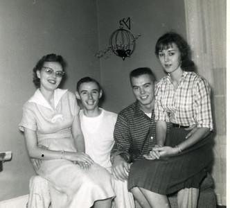 Gertie, Harry, Donnie & Bernice Kohls