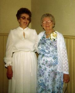 Gertie & Grandma Eva Clark