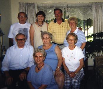 Eddie & Bernice, Donnie & Donna,  Harry & Evelyn, Gertie & Amelia