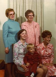 Gertrude, Eva, Debbie, Chris & Amelia