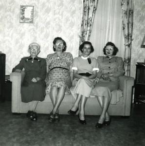 Four Generations: Josephine Mapes, Eva Clark, Amelia & Gertie