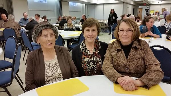 Beverly Clark, Laurie Giombi and Susan Bohmann