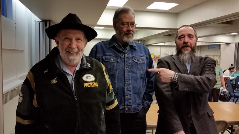 Eddie Henning, Darrel Clark and Chuck Henning