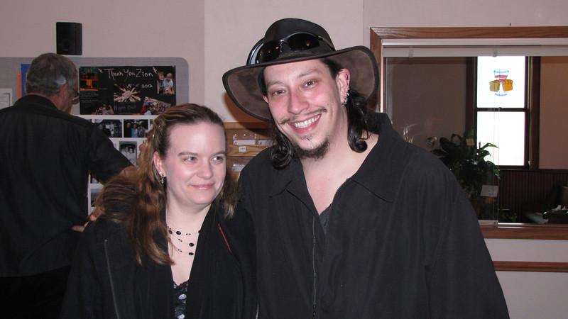 Christie and Darrel
