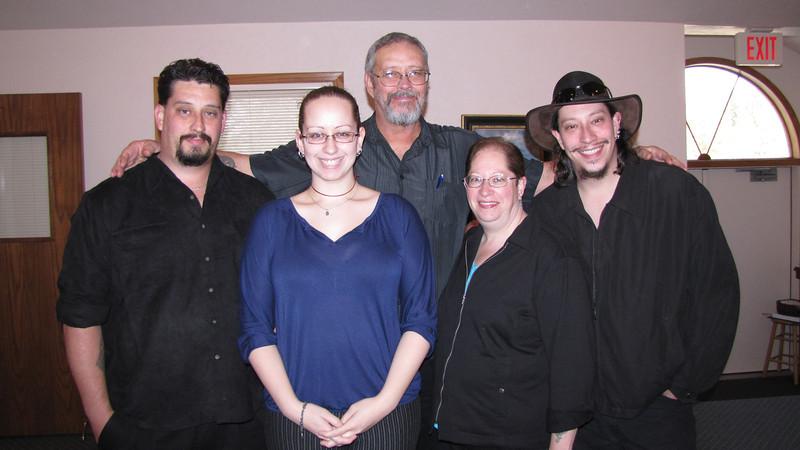 Clark family- Eli, Ahri, Darrel, Tammy and Darrel