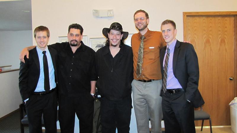 Cousins- Jered, Eli, Darrel, Chris and Kyle