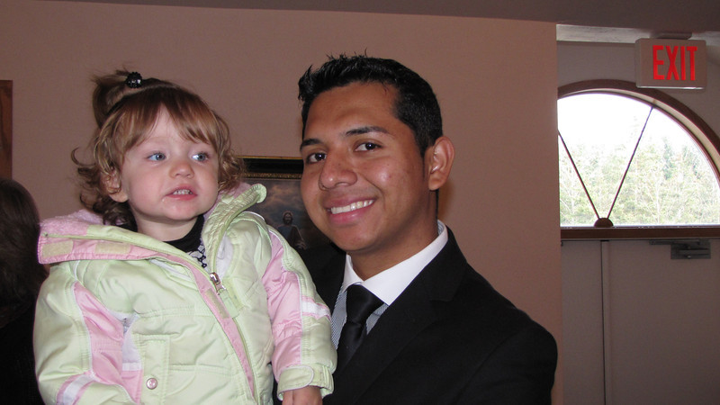 Olivia Alexander and Uncle Danny Rodriguez