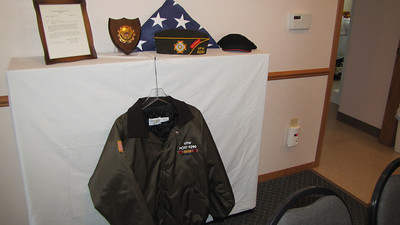 Frank's militiary display