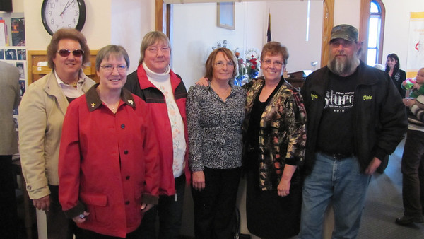 Clark cousins- Janet, Dianne and Patti (Ray), Susan (Jerry), Judy (Frank) and Dale (Doris)