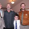 Warren Phillips, Darrel Clark, Dylan Alzate and Chris Phillips