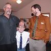 Darrel Clark, Dylan Alzate and Chris Phillips