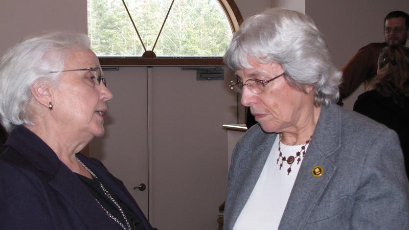 Jeanette Buehler and Alice Shepherd
