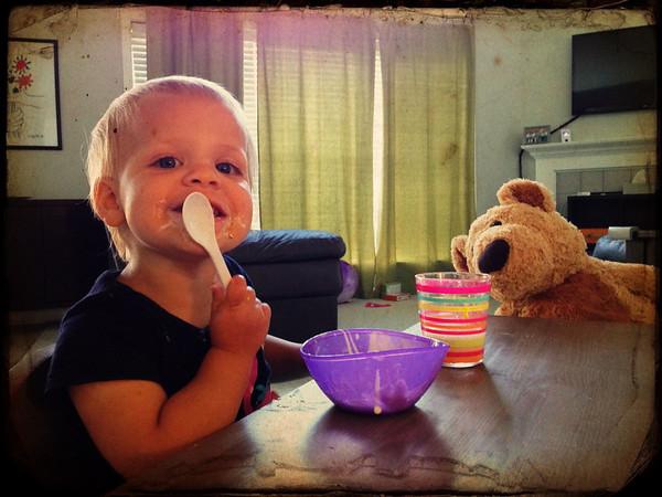 Yogurt with Larry