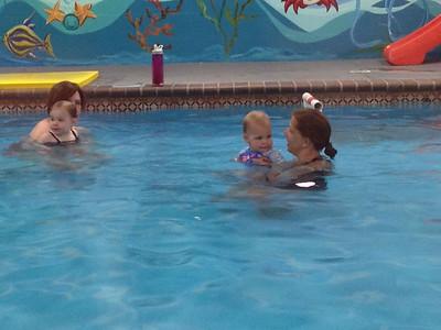 Nora swim lessons.