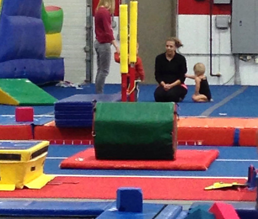 Nora's first day at Dana Minnix Gymnastics.
