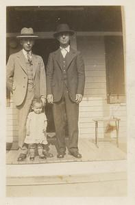 Lee Lindzy Doris Lindzy and Grandpa Lindzy (Noah H. Lindzy)