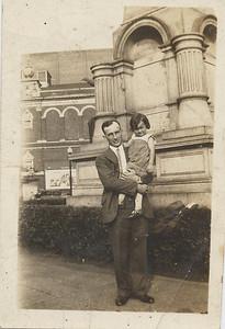 Walter Lindzy and Doris in Indianapolis 1926