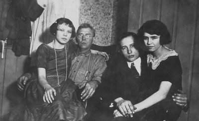 Maude Randall Rogers, Theodore T. James, Walter and Annabelle Lindzy
