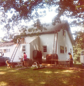 Summer, 1982. A major renovation begins under the direction of Uncle Hank. We'll be adding a master bedroom, two baths, and another bedroom with dormer upstairs.