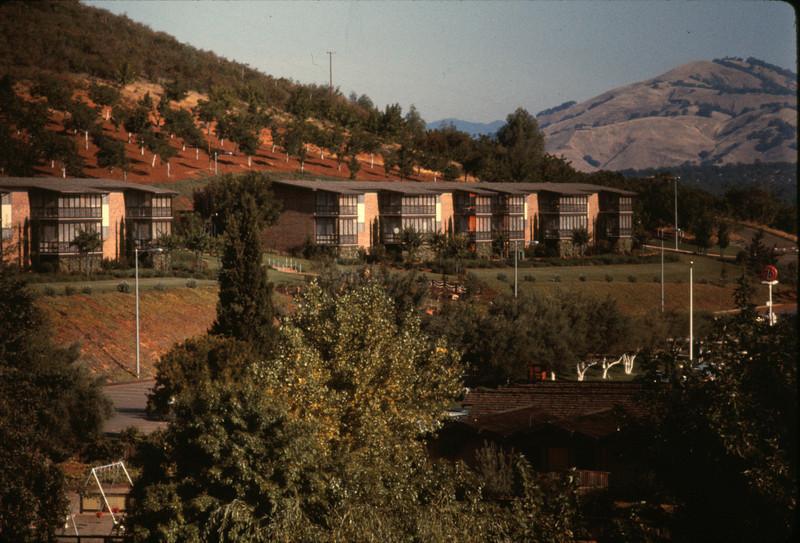 The Konocti Harbor Inn from lakeside.