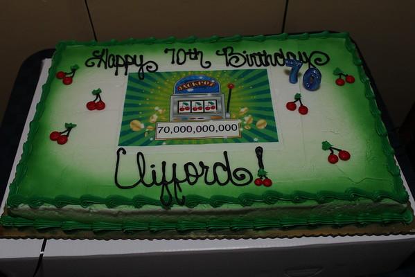 Cliff 70th Birthday
