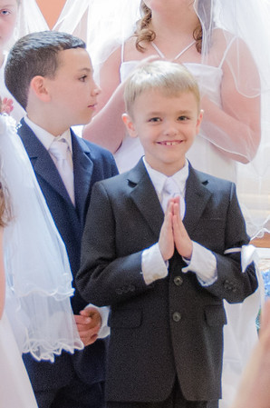 Clint's 1st Communion