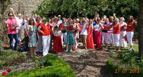 Clitheroe Grand Choir Downham Hall20130727