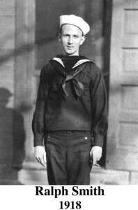 Ralph Smith USN WWI. Brother to Glades' Smith, my  grandmother on mom's side.