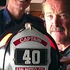 It's Jon's helmet Engine 40, Half Moon Bay California. Coastside Station.