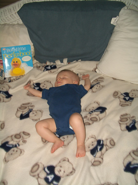 I love pictures of Cody sleeping 8/4