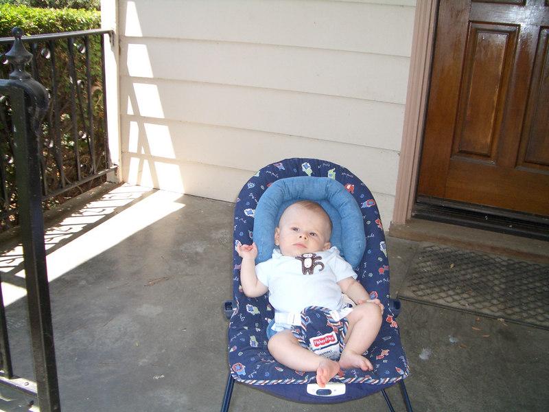 Cody supervising 8/14