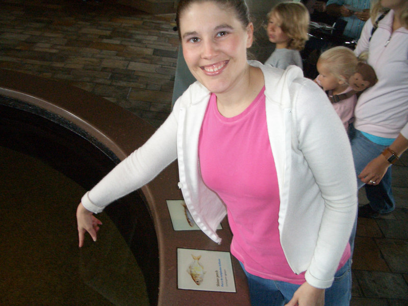 8/18 Mommy at the Monterey aquarim
