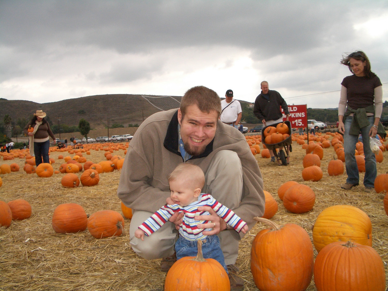 How about that pumpkin over there dada?