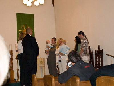 Cousin Rooke and Rustin's baptism. 10/13