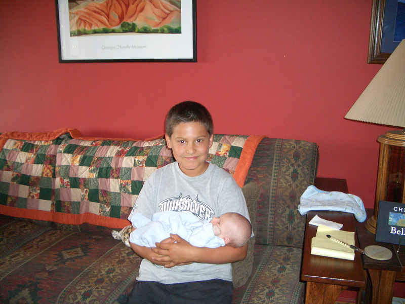 Cousin Cooper with Cody 5/6/06