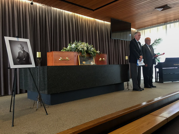 Colin Holmes Funeral Service