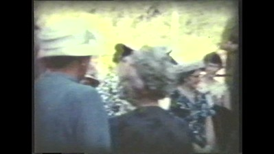 8mm movie of Colin & Enid Holmes' wedding and moving into first home.