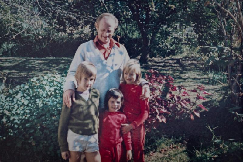 Colin Holmes, Anthony Holmes, Kelly Holmes, Allison Holmes. 1972?