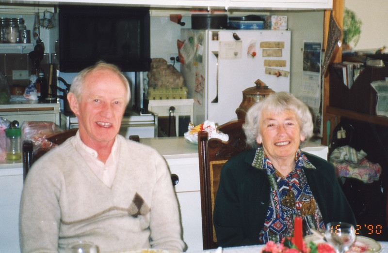 Colin Holmes & Isabel Forsyth, 16th December 1990.