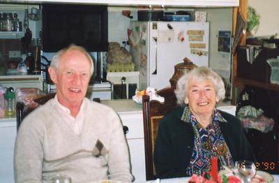 Colin Holmes & Isabel Forsyth, 16th December 1990.