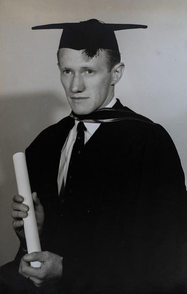 Colin Holmes, Graduation.