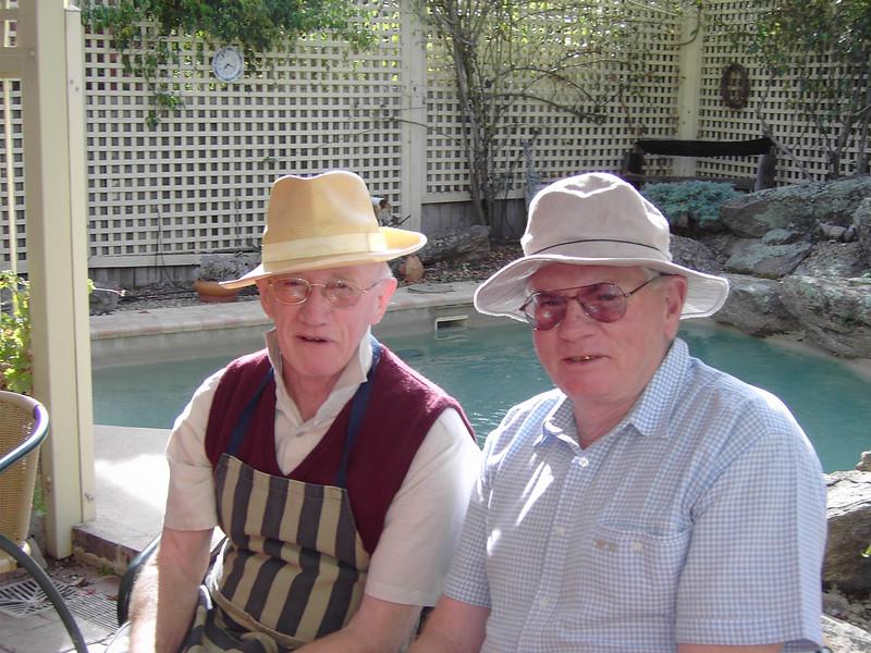 Colin Holmes and Brett Jordan, 2006.
