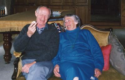 Colin Holmes & Isabel (Billie) Forsyth, date uknown.