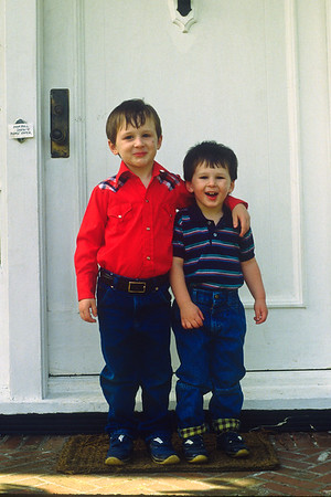 Colin and Jeremy 1980s