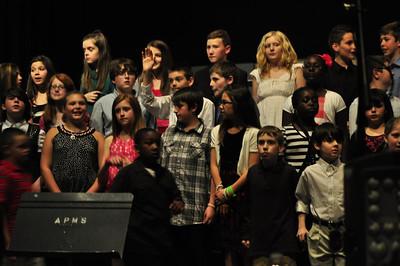 Colin's school concert