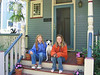 Witherspoon Front Porch <br /> Madeleine Carroll, Zeus Witherspoon, Natalie Carroll