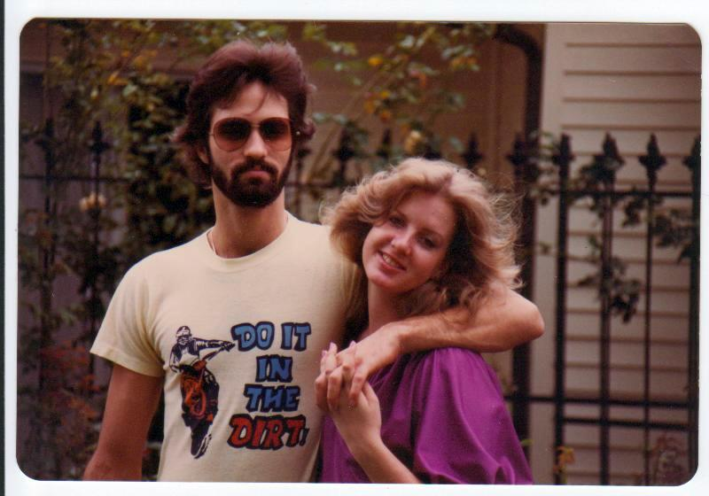 Me (Jeff) and Allison after I graduated High School and before I started College. 1980