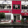 Wonderful little place that serves all kinds of arepas in Bogota.