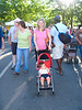Mommy and Donovan at the Farmer's Market in Grand Junction, CO