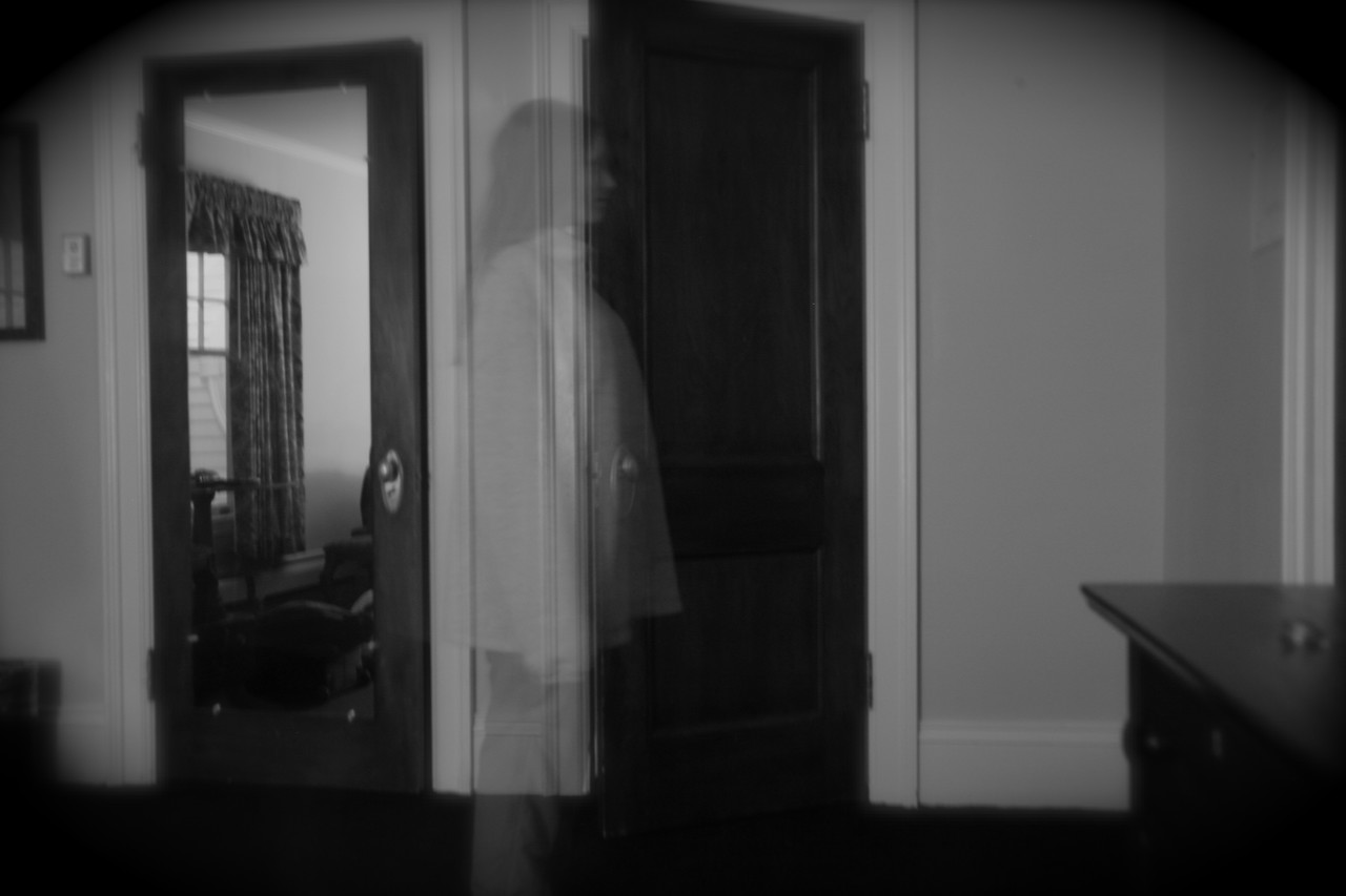 A ghost in the Stanley Hotel